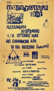 Rocktober Fest 1988