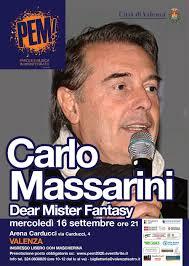 Today: Carlo Massarini a PEM! (2020)