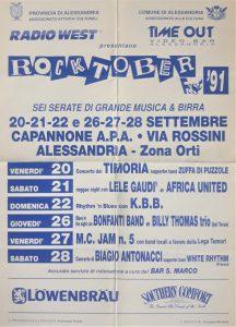 Rocktober Fest 1991